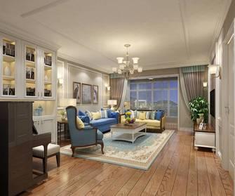 20万以上140平米三室一厅美式风格客厅图片