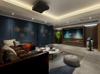 豪华型140平米别墅中式风格影音室欣赏图