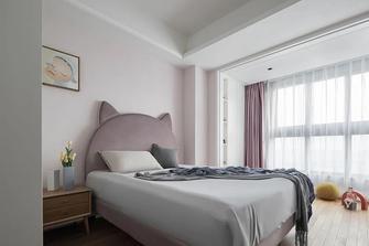 富裕型80平米三室三厅北欧风格青少年房装修图片大全