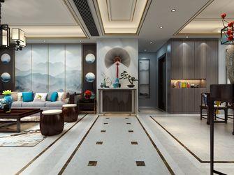 20万以上140平米三室两厅中式风格走廊设计图
