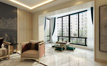 20万以上120平米三室两厅中式风格阳台图片
