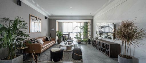 10-15万110平米三室一厅北欧风格客厅欣赏图