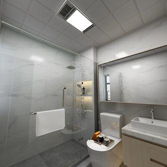 富裕型90平米三中式风格卫生间图片
