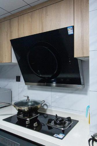 70平米三室一厅现代简约风格厨房效果图