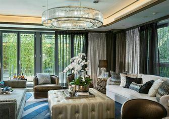 豪华型140平米三室两厅地中海风格客厅图片大全