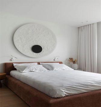 5-10万80平米三室一厅北欧风格卧室装修图片大全