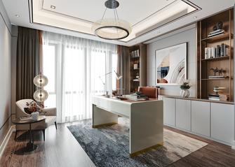 140平米三室一厅欧式风格书房装修效果图