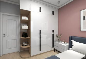 富裕型130平米三室两厅现代简约风格卧室装修案例