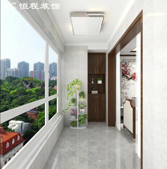 120平米三室两厅中式风格阳台设计图