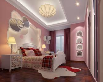 140平米别墅欧式风格青少年房设计图