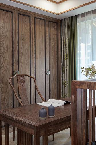 富裕型一室一厅中式风格书房图片大全