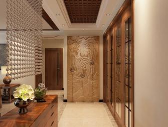 富裕型110平米三室两厅北欧风格走廊欣赏图