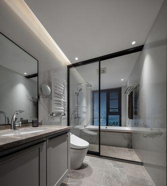 20万以上120平米三室两厅轻奢风格卫生间图片