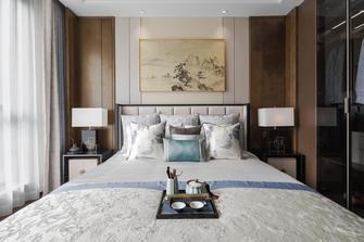 富裕型120平米三室两厅中式风格卧室装修效果图