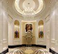 140平米三室两厅欧式风格玄关设计图