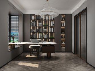豪华型140平米复式轻奢风格书房图片