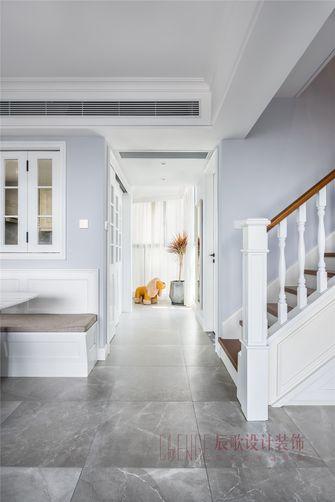 20万以上130平米复式现代简约风格走廊图片