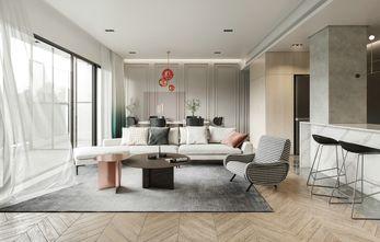富裕型110平米四室两厅现代简约风格客厅装修效果图