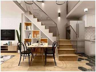 富裕型100平米四室一厅北欧风格走廊装修效果图
