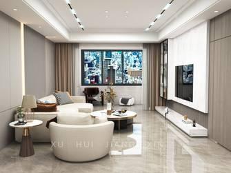 富裕型130平米三室两厅轻奢风格客厅图片
