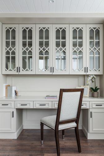 140平米三室三厅美式风格书房装修效果图