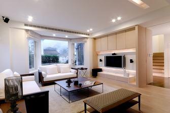 120平米三港式风格客厅图片