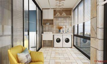 140平米三室一厅现代简约风格阳台效果图