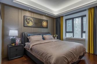 富裕型90平米三室三厅欧式风格卧室装修图片大全