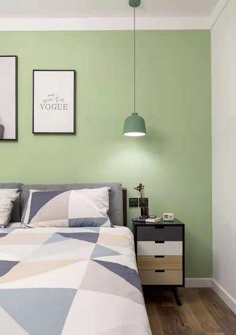 3-5万80平米现代简约风格卧室图