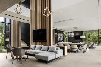 140平米四田园风格客厅装修效果图
