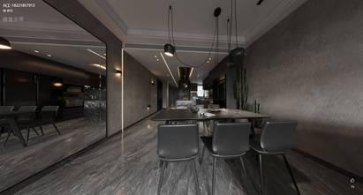 经济型120平米三英伦风格餐厅设计图