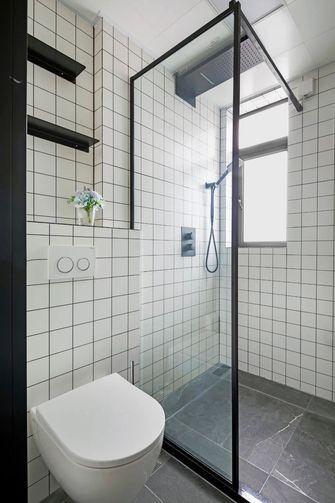 110平米三室一厅日式风格卫生间装修效果图