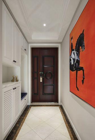 富裕型130平米三室两厅美式风格玄关图片