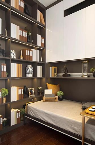 80平米三现代简约风格书房装修图片大全