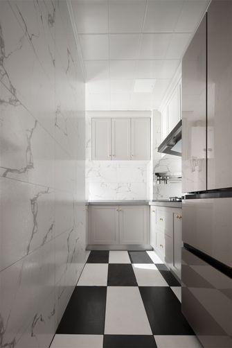 富裕型80平米三室一厅混搭风格厨房装修案例