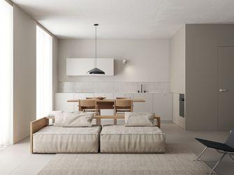 5-10万60平米三室一厅北欧风格卧室装修案例