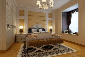 经济型90平米三室三厅欧式风格卧室装修图片大全