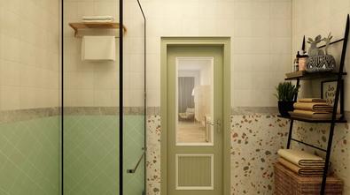 80平米公寓东南亚风格卫生间效果图