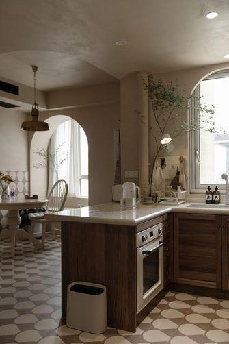 20万以上70平米新古典风格厨房图片大全