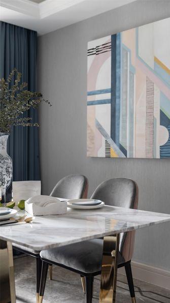 富裕型90平米三室两厅轻奢风格餐厅图片