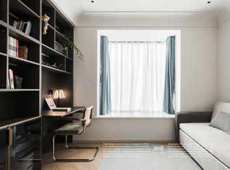 富裕型120平米现代简约风格书房图片