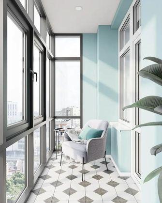 60平米现代简约风格阳台装修图片大全
