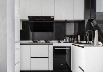 经济型110平米四室一厅现代简约风格厨房图