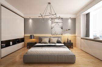 经济型120平米三现代简约风格卧室设计图