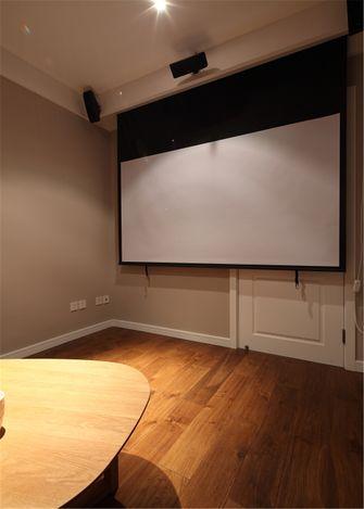 20万以上120平米三室一厅北欧风格影音室装修图片大全