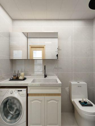 经济型90平米日式风格卫生间设计图