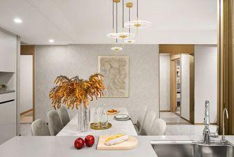 经济型100平米三现代简约风格餐厅装修效果图