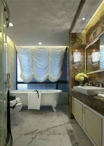 20万以上90平米三室一厅欧式风格卫生间装修图片大全
