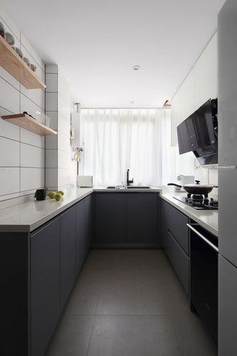 富裕型一室一厅北欧风格厨房设计图