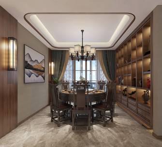 富裕型140平米四中式风格餐厅装修效果图